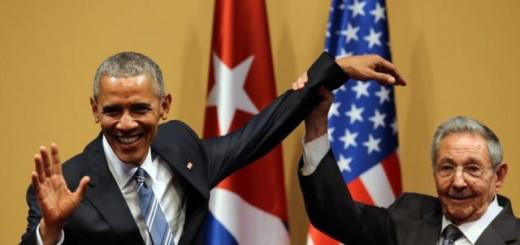 Obama y Castro