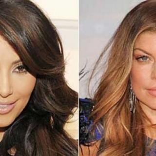 kim kardashian fergie1